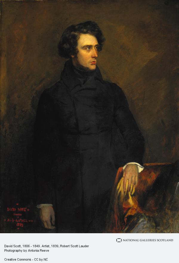 Robert Scott Lauder, David Scott, 1806 - 1849. Artist