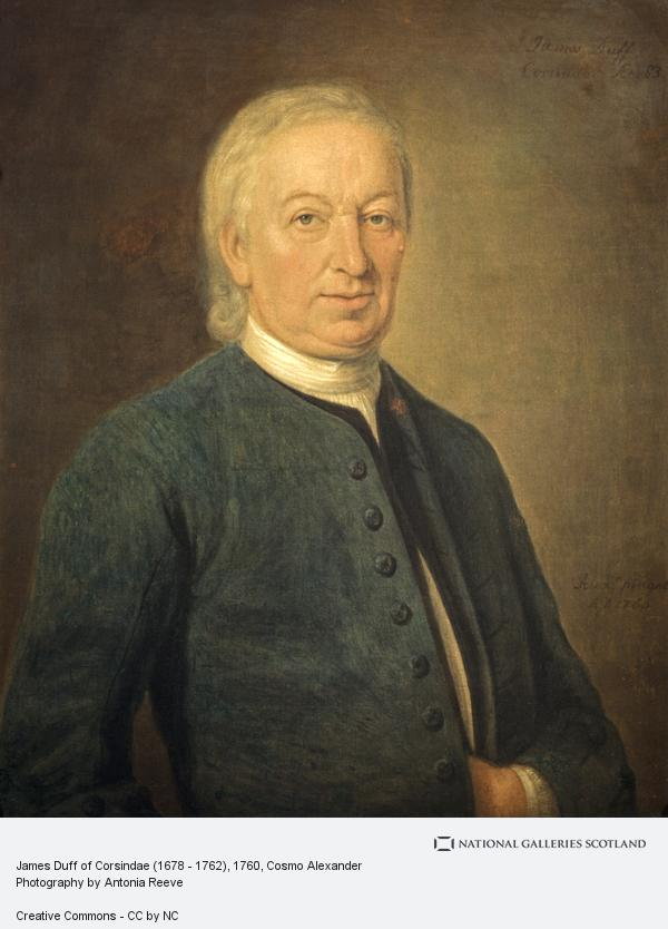 Cosmo Alexander, James Duff of Corsindae (1678 - 1762)