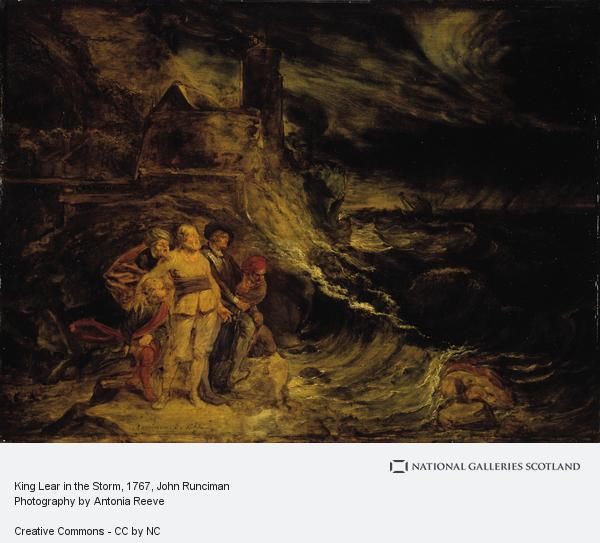 John Runciman, King Lear in the Storm
