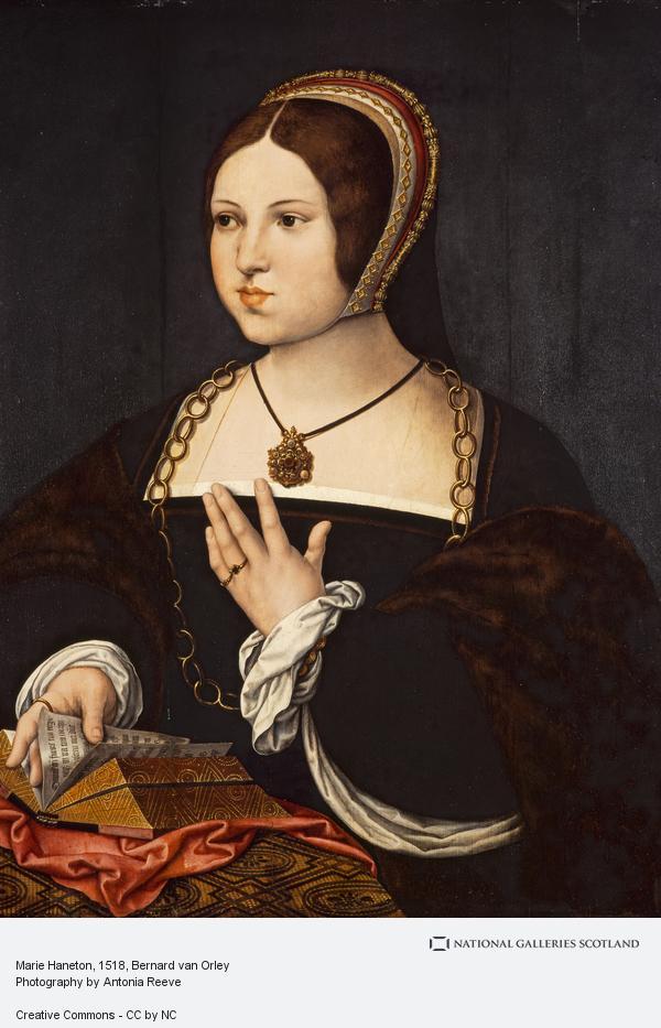 Bernard van Orley, Marie Haneton (About 1518 - 1519)