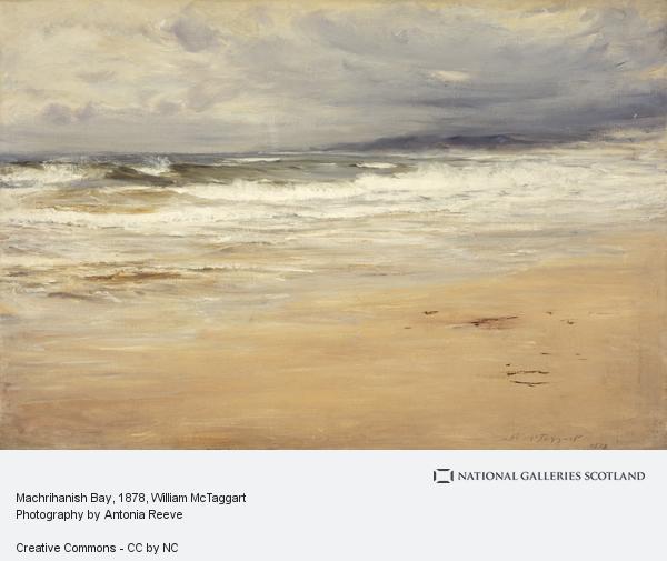 William McTaggart, Machrihanish Bay (Dated 1878)