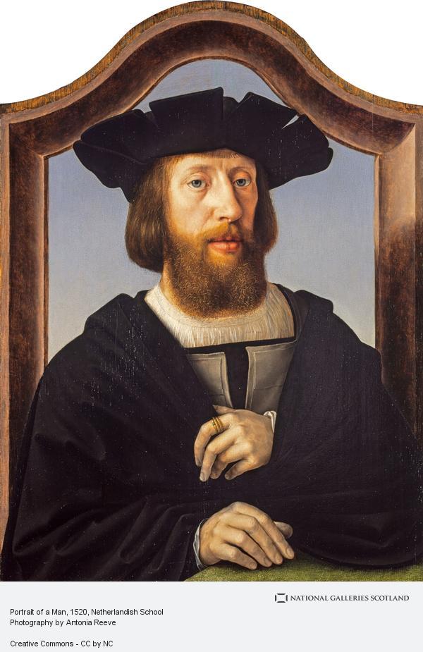 Netherlandish School, Portrait of a Man (About 1520 - 1525)