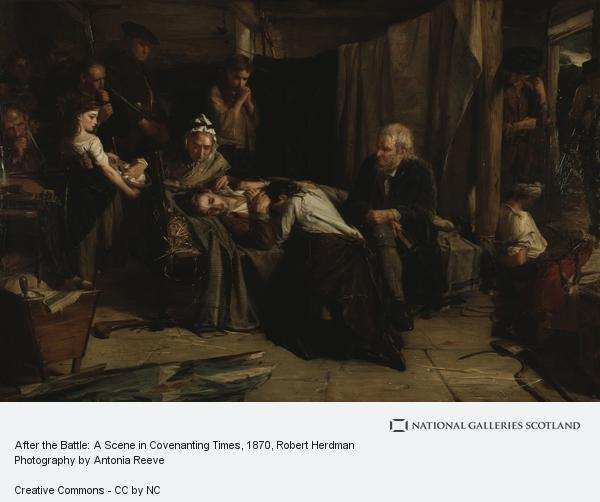 Robert Herdman, After the Battle: A Scene in Covenanting Times