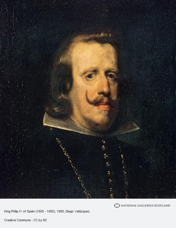 Diego Velazquez, King Philip IV of Spain (1605 - 1665)