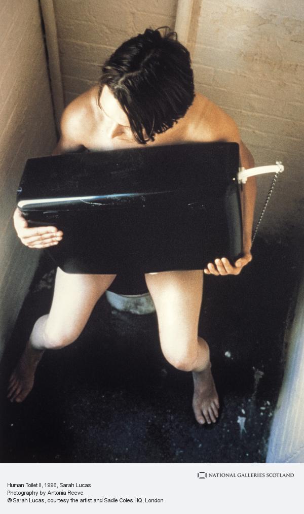 Sarah Lucas, Human Toilet II