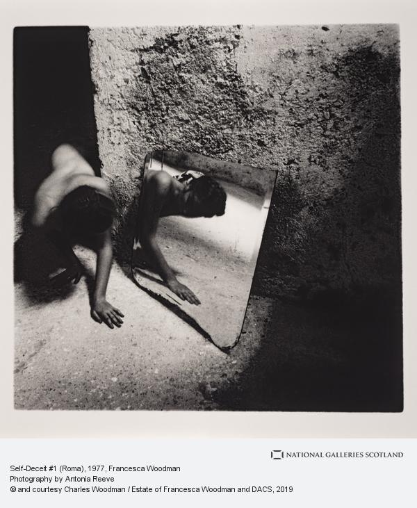 Francesca Woodman, Self-Deceit #1 (Roma)