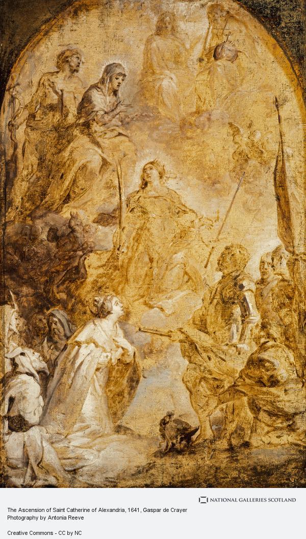 Gaspar de Crayer, The Ascension of Saint Catherine of Alexandria
