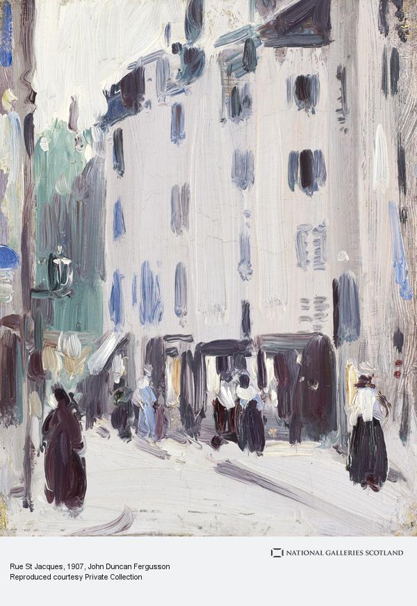 John Duncan Fergusson, Rue St Jacques (1907)