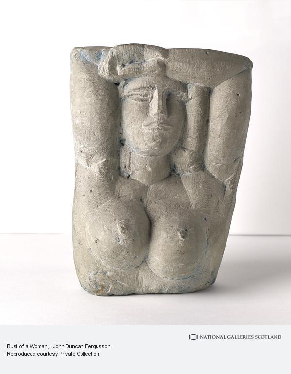 John Duncan Fergusson, Bust of a Woman