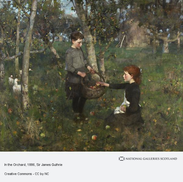 Sir James Guthrie, In the Orchard