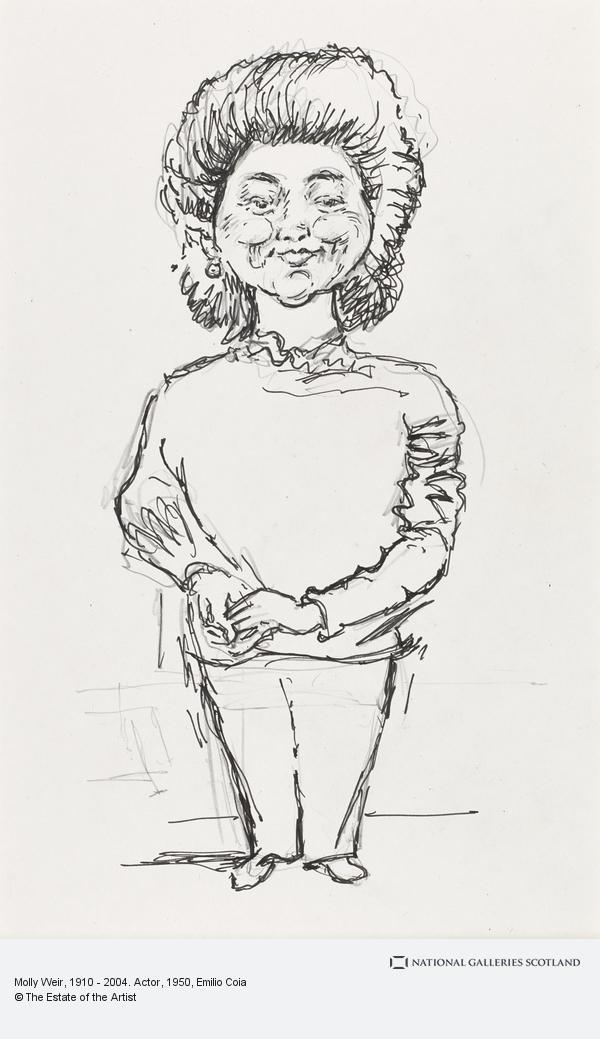 Emilio Coia, Molly Weir, 1910 - 2004. Actor