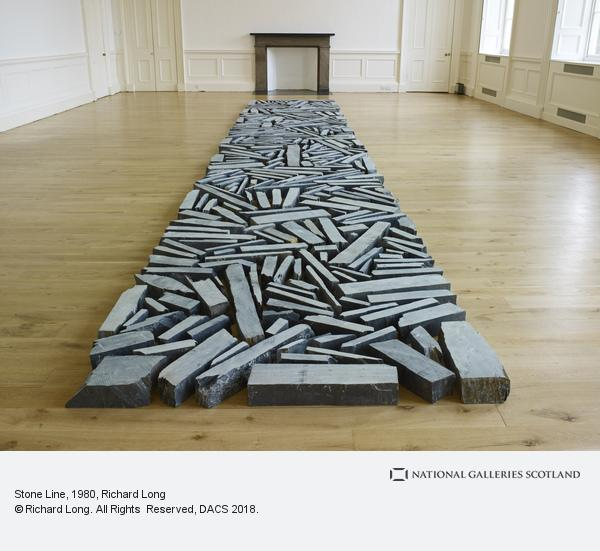 Richard Long, Stone Line