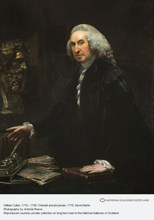David Martin, William Cullen, 1710 - 1790. Chemist and physician