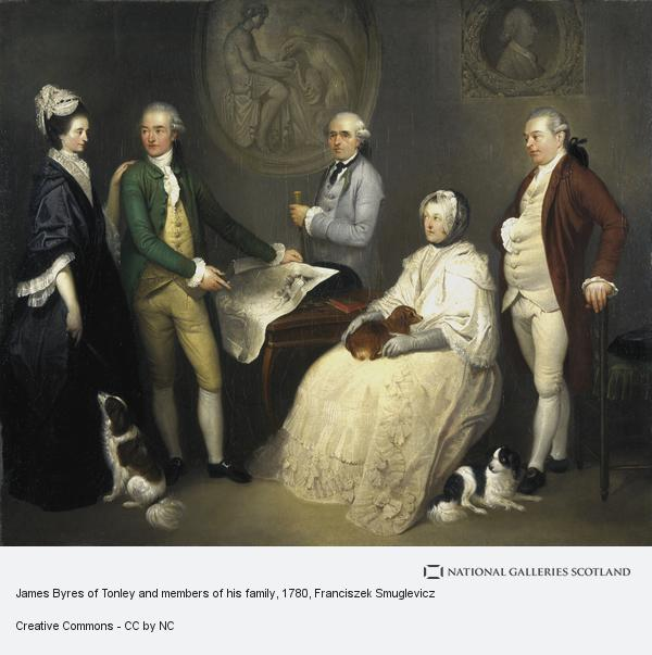 Franciszek Smuglevicz, James Byres of Tonley and members of his family (About 1780)