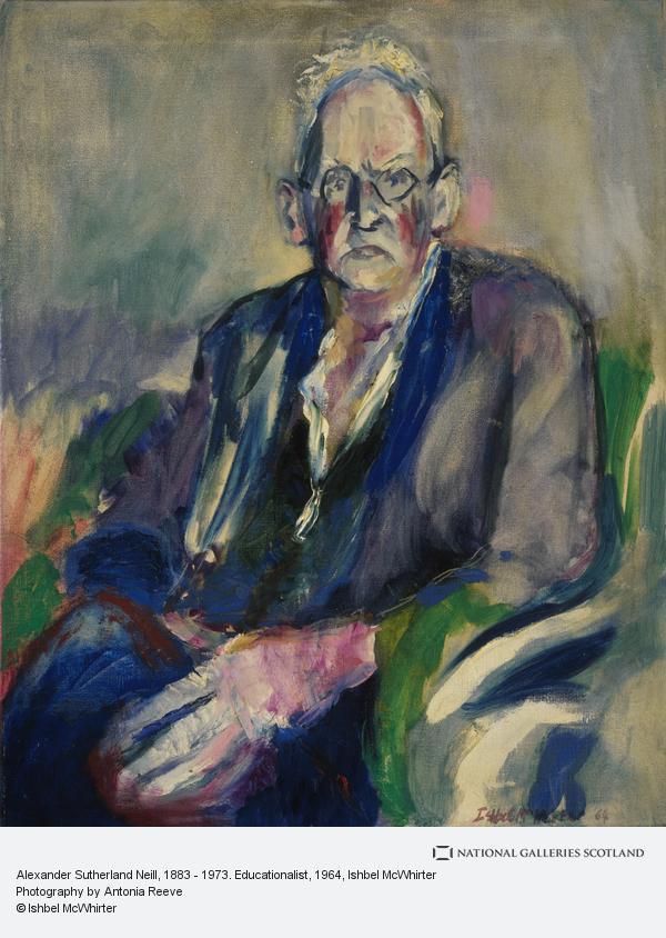 Ishbel McWhirter, Alexander Sutherland Neill, 1883 - 1973. Educationalist (1964)