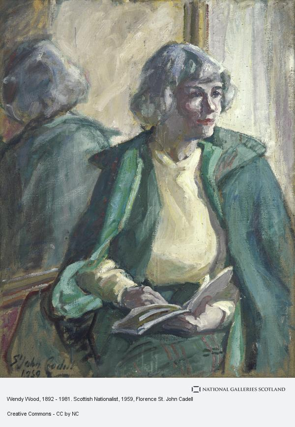 Florence St. John Cadell, Wendy Wood, 1892 - 1981. Scottish Nationalist
