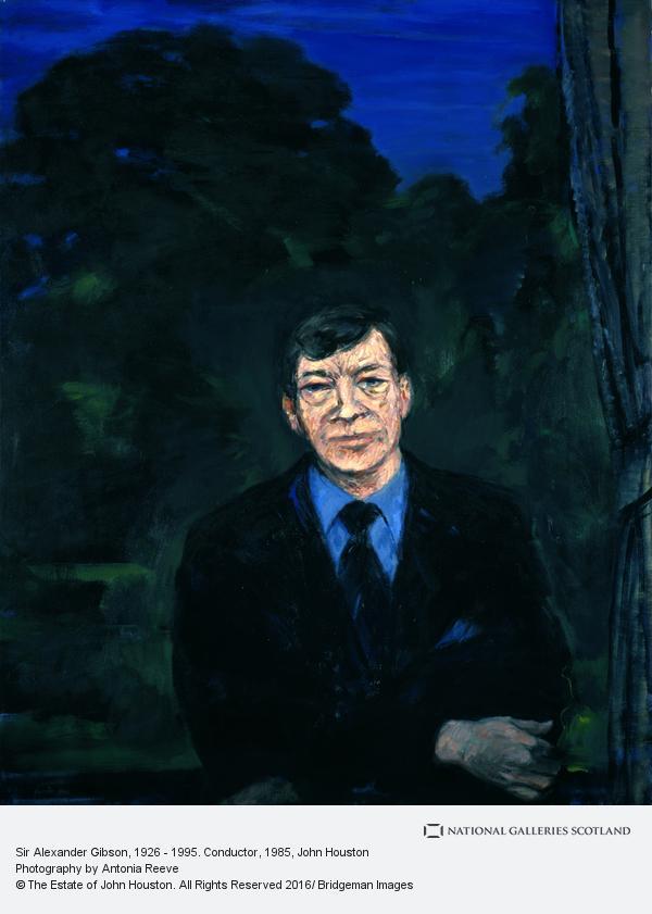 John Houston, Sir Alexander Gibson, 1926 - 1995. Conductor (1985)