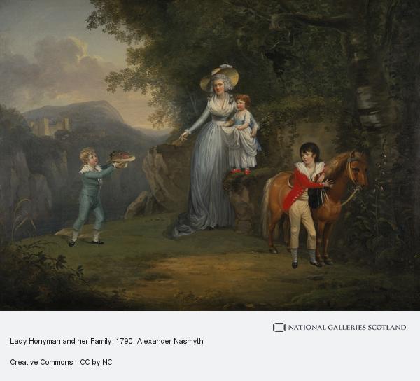 Alexander Nasmyth, Lady Honyman and her Family
