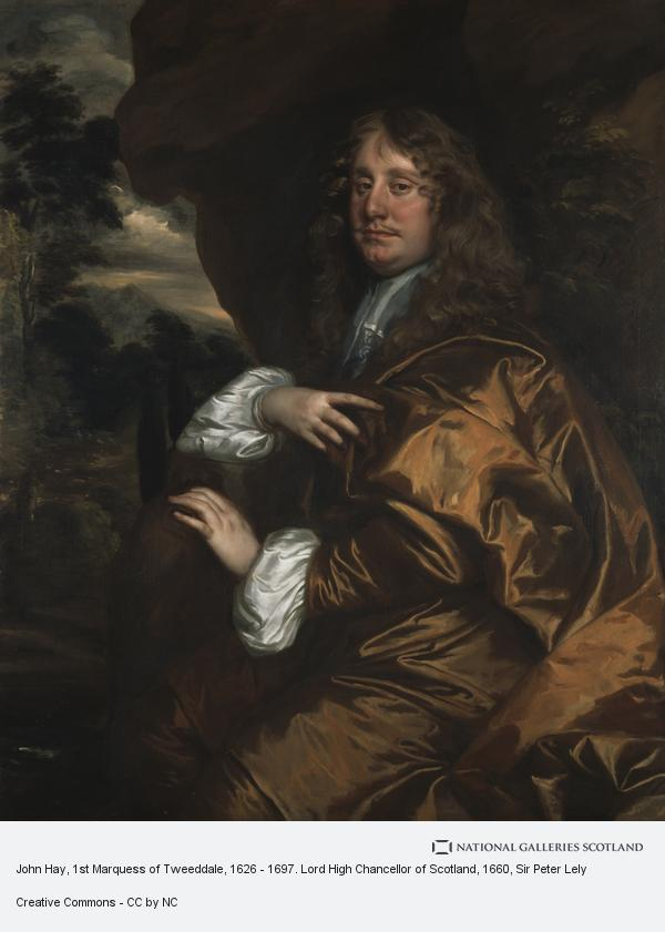 Sir Peter Lely, John Hay, 1st Marquess of Tweeddale, 1626 - 1697. Lord High Chancellor of Scotland