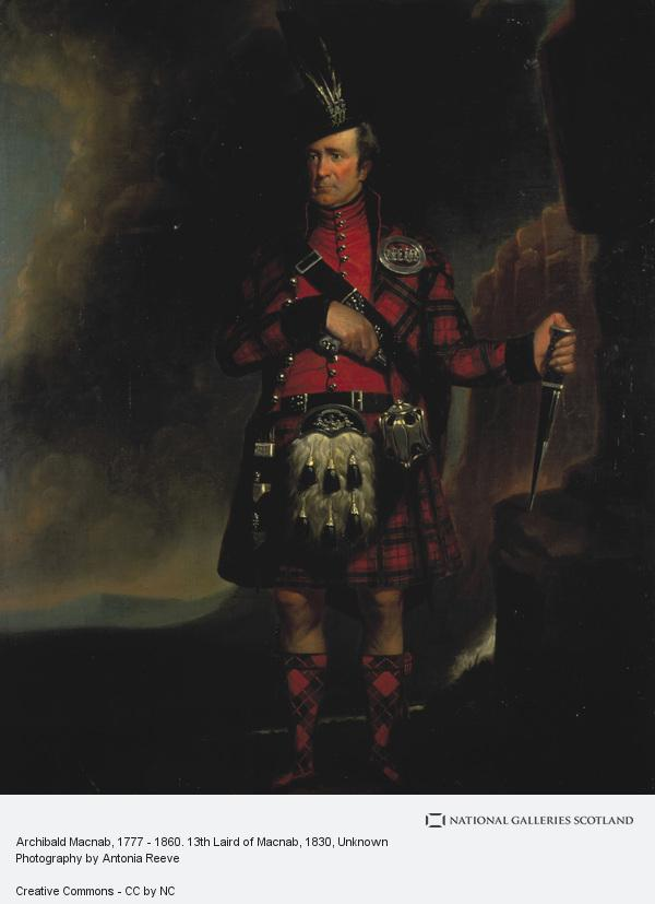 Unknown, Archibald Macnab, 1777 - 1860. 13th Laird of Macnab (About 1830)
