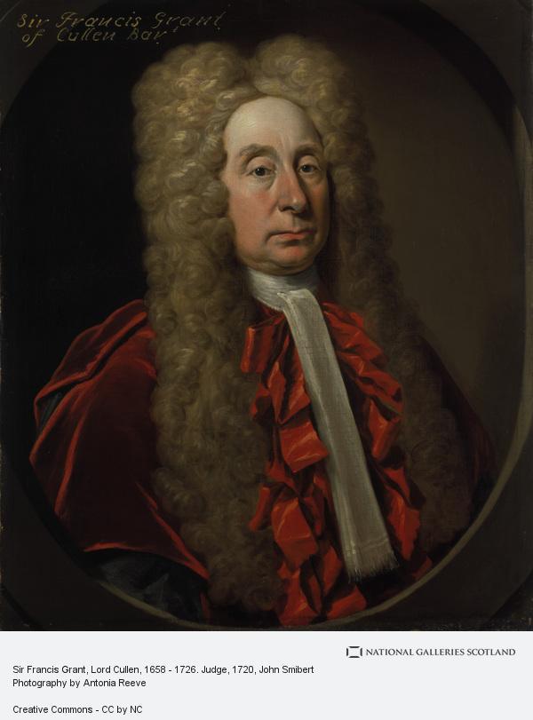 John Smibert, Sir Francis Grant, Lord Cullen, 1658 - 1726. Judge