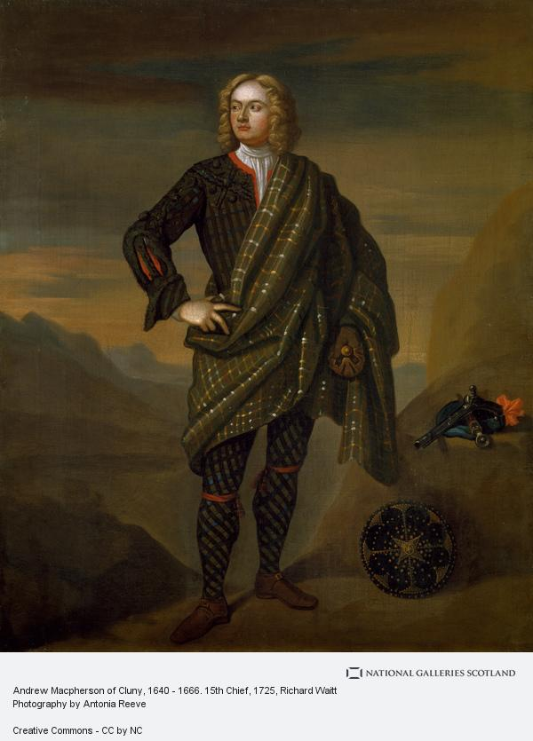 Richard Waitt, Andrew Macpherson of Cluny, 1640 - 1666. 15th Chief (About 1725)