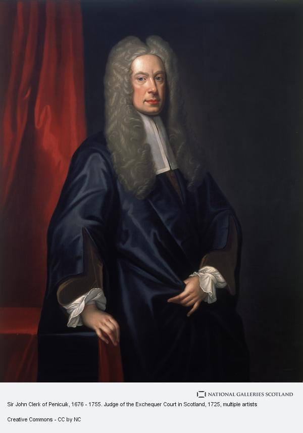 Unknown, Sir John Clerk of Penicuik, 1676 - 1755. Judge of the Exchequer Court in Scotland