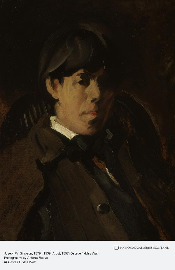 George Fiddes Watt, Joseph W. Simpson, 1879 - 1939. Artist