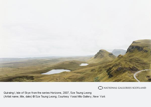 Sze Tsung Leong, Quiraing I, Isle of Skye from the series Horizons (2007)