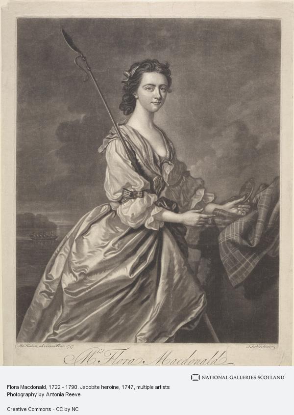 Johannes Faber, Flora Macdonald, 1722 - 1790. Jacobite heroine