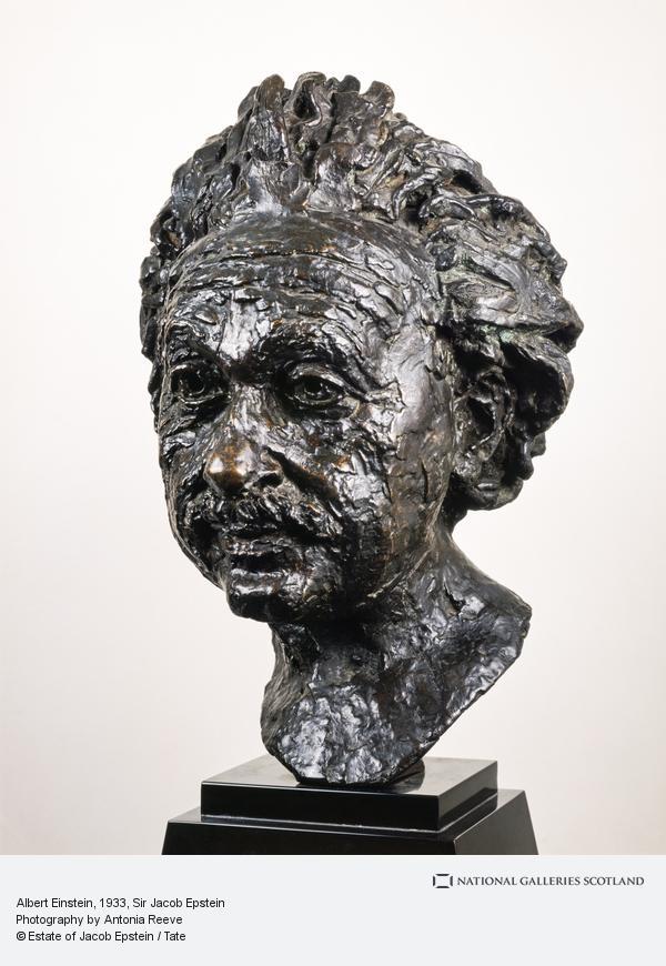 Sir Jacob Epstein, Albert Einstein