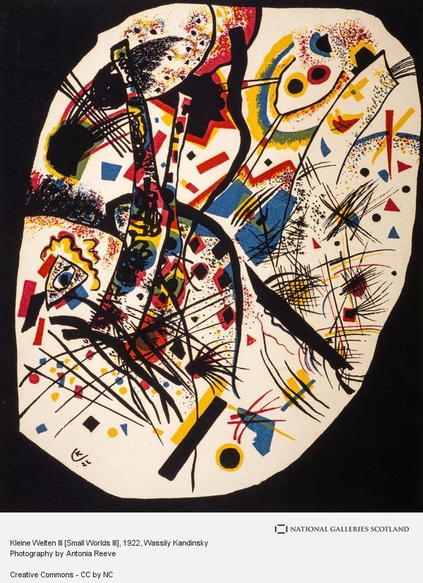 Wassily Kandinsky, Kleine Welten III [Small Worlds III]