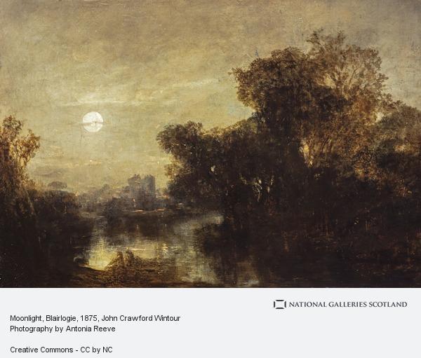John Crawford Wintour, Moonlight, Blairlogie
