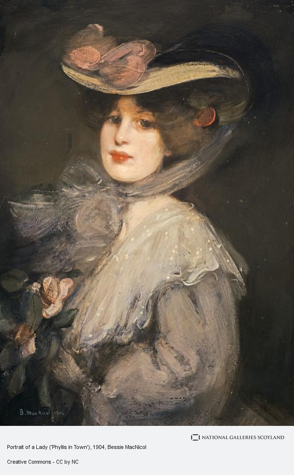 Bessie MacNicol, Portrait of a Lady ('Phyllis in Town')