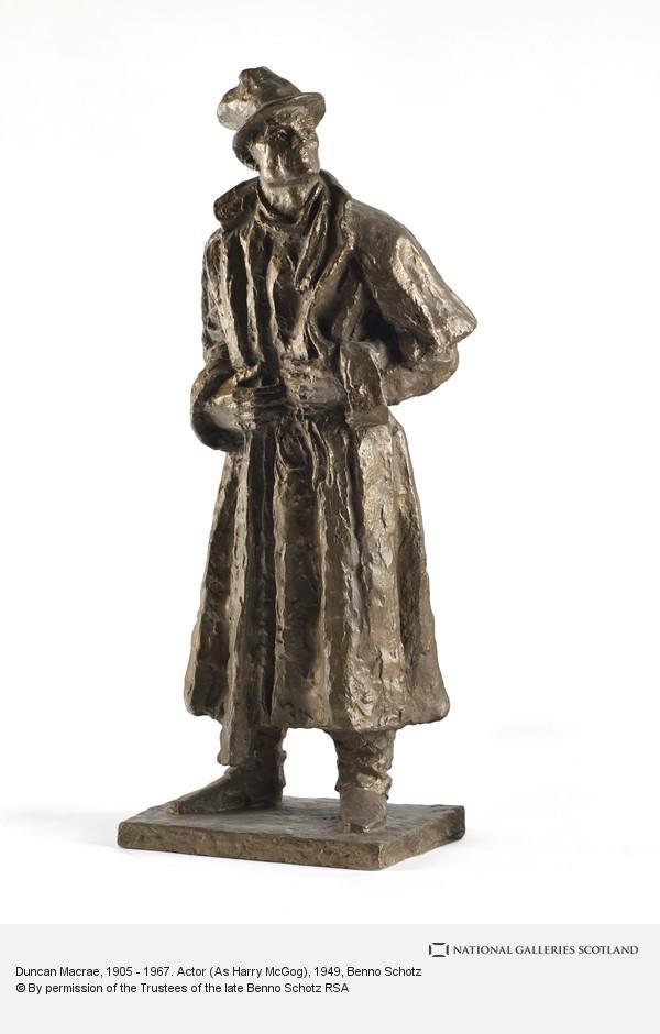 Benno Schotz, Duncan Macrae, 1905 - 1967. Actor (As Harry McGog)