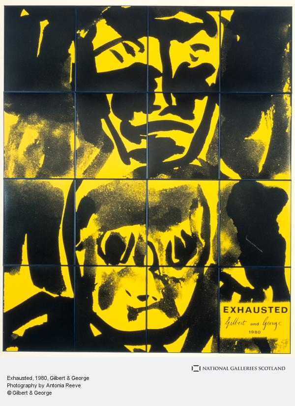 Gilbert & George, Exhausted (1980)
