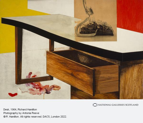 Richard Hamilton, Desk (1964)