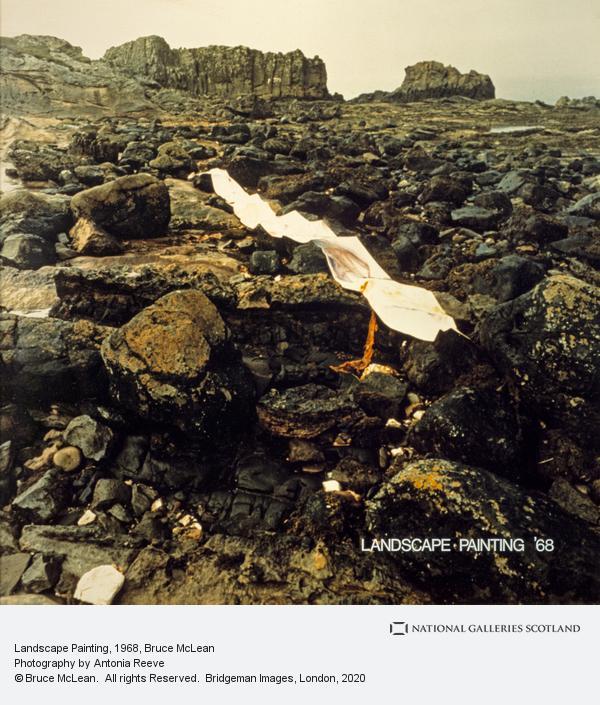 Bruce McLean, Landscape Painting (1968)