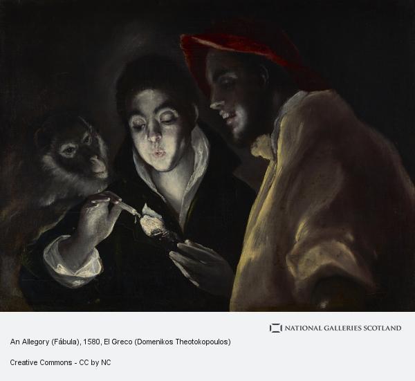 El Greco (Domenikos Theotokopoulos), An Allegory (Fàbula)