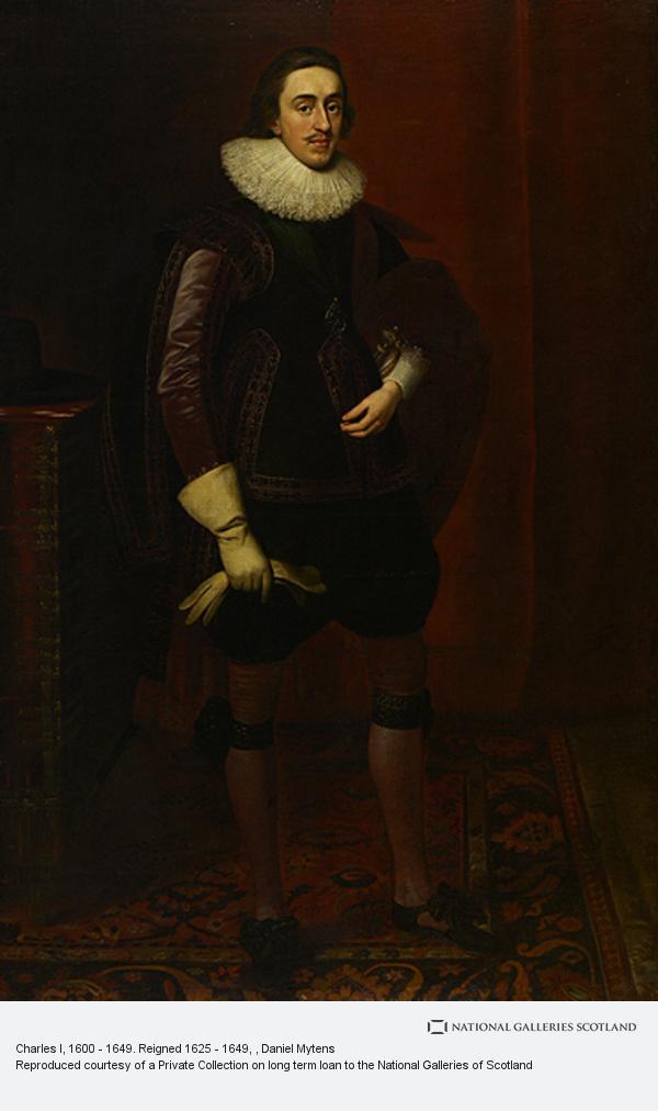 Daniel Mytens, Charles I, 1600 - 1649. Reigned 1625 - 1649