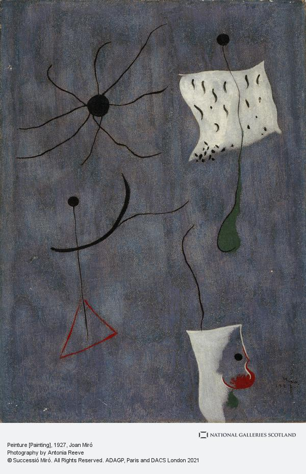 Joan Miro, Peinture [Painting] (1927)