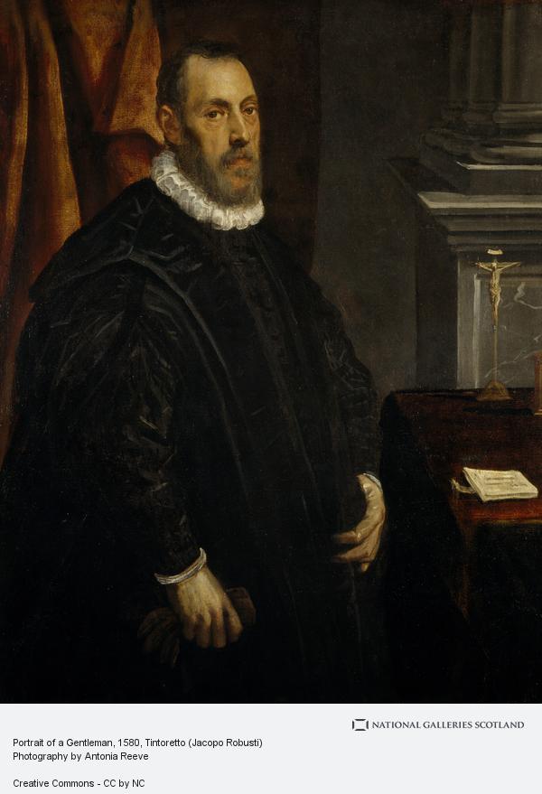 Tintoretto (Jacopo Robusti), Portrait of a Gentleman