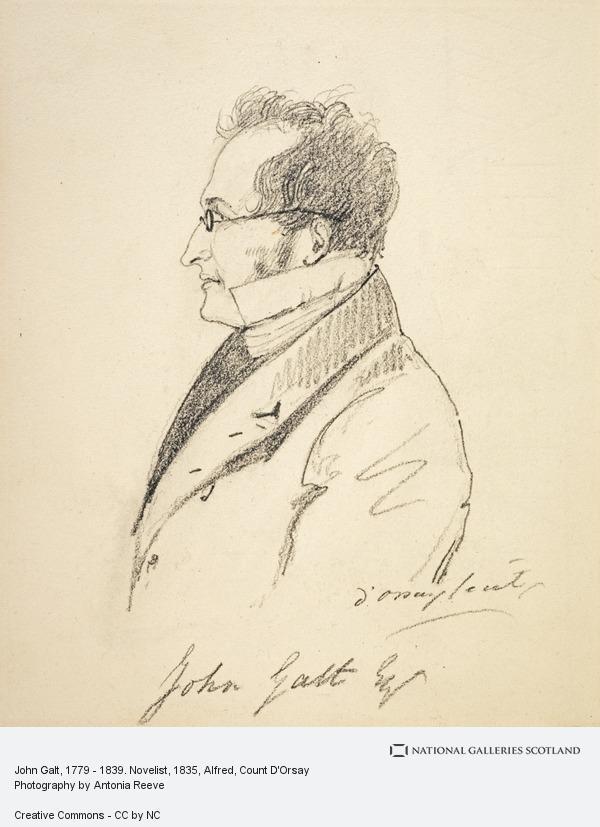 Alfred, Count D'Orsay, John Galt, 1779 - 1839. Novelist