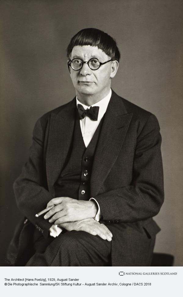 August Sander, Architect [Hans Poelzig], 1929 (1929)