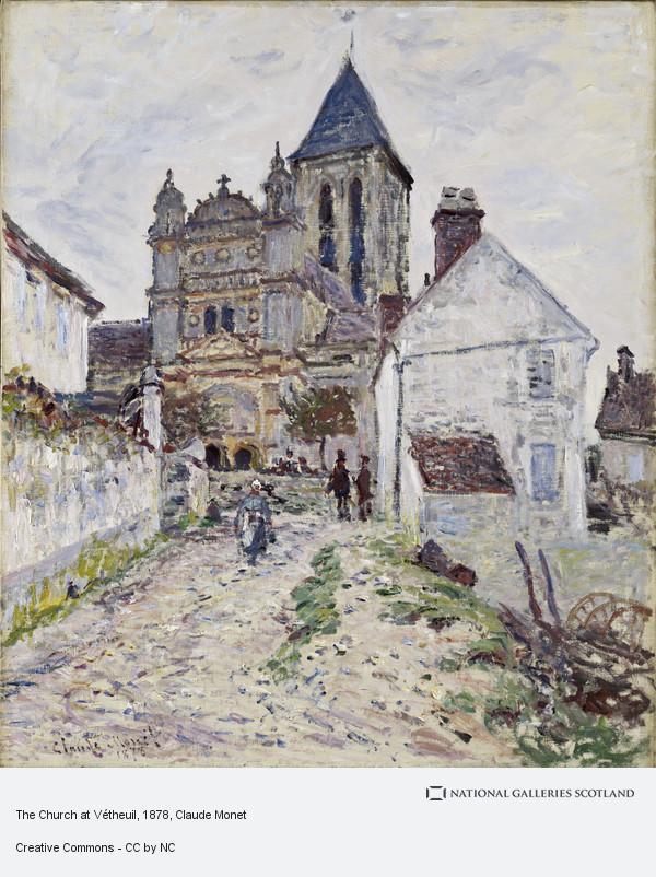 Claude Monet, The Church at Vétheuil (1878)