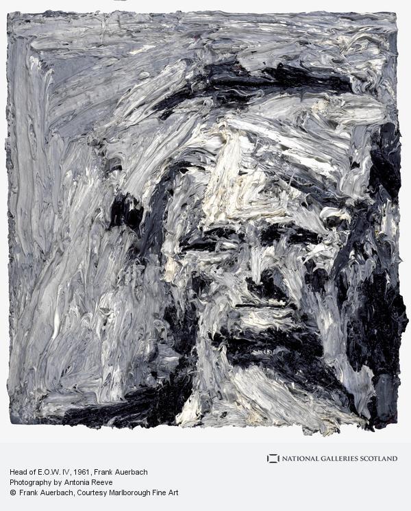 Frank Auerbach, Head of E.O.W. IV (1961)