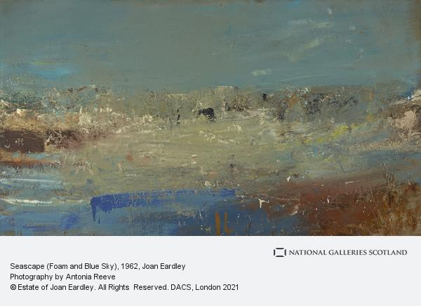 Joan Eardley, Seascape (Foam and Blue Sky)