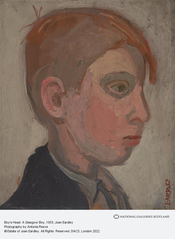 Joan Eardley, Boy's Head 'A Glasgow Boy'