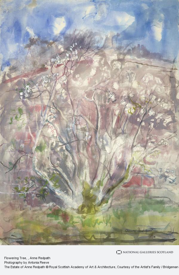 Anne Redpath, Flowering Tree
