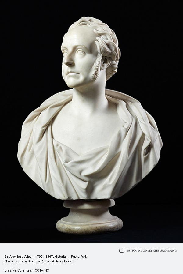 Patric Park, Sir Archibald Alison, 1792 - 1867. Historian
